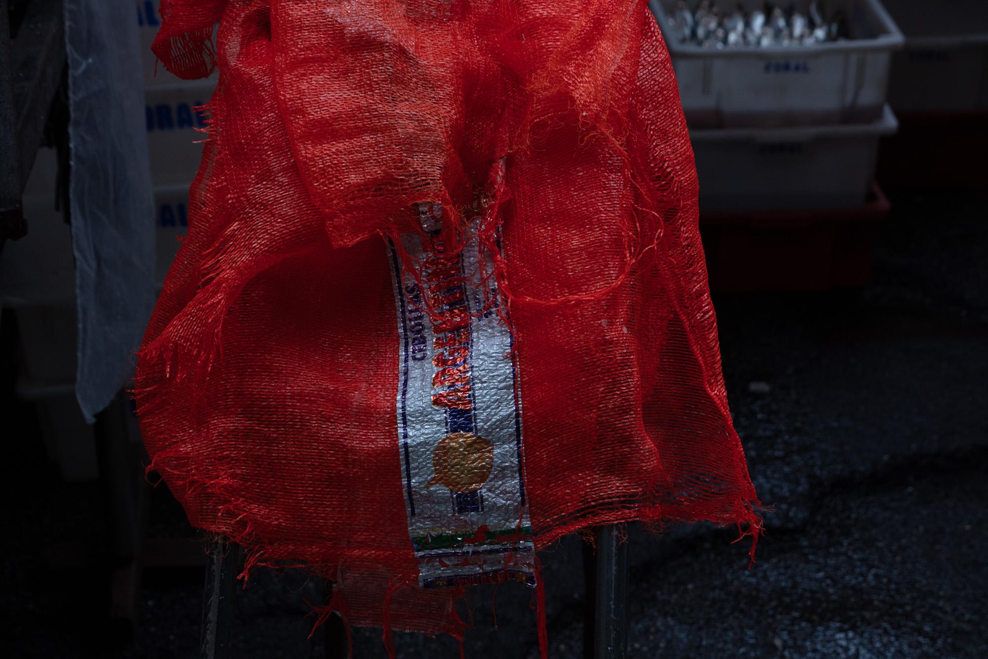 Saco vermelho