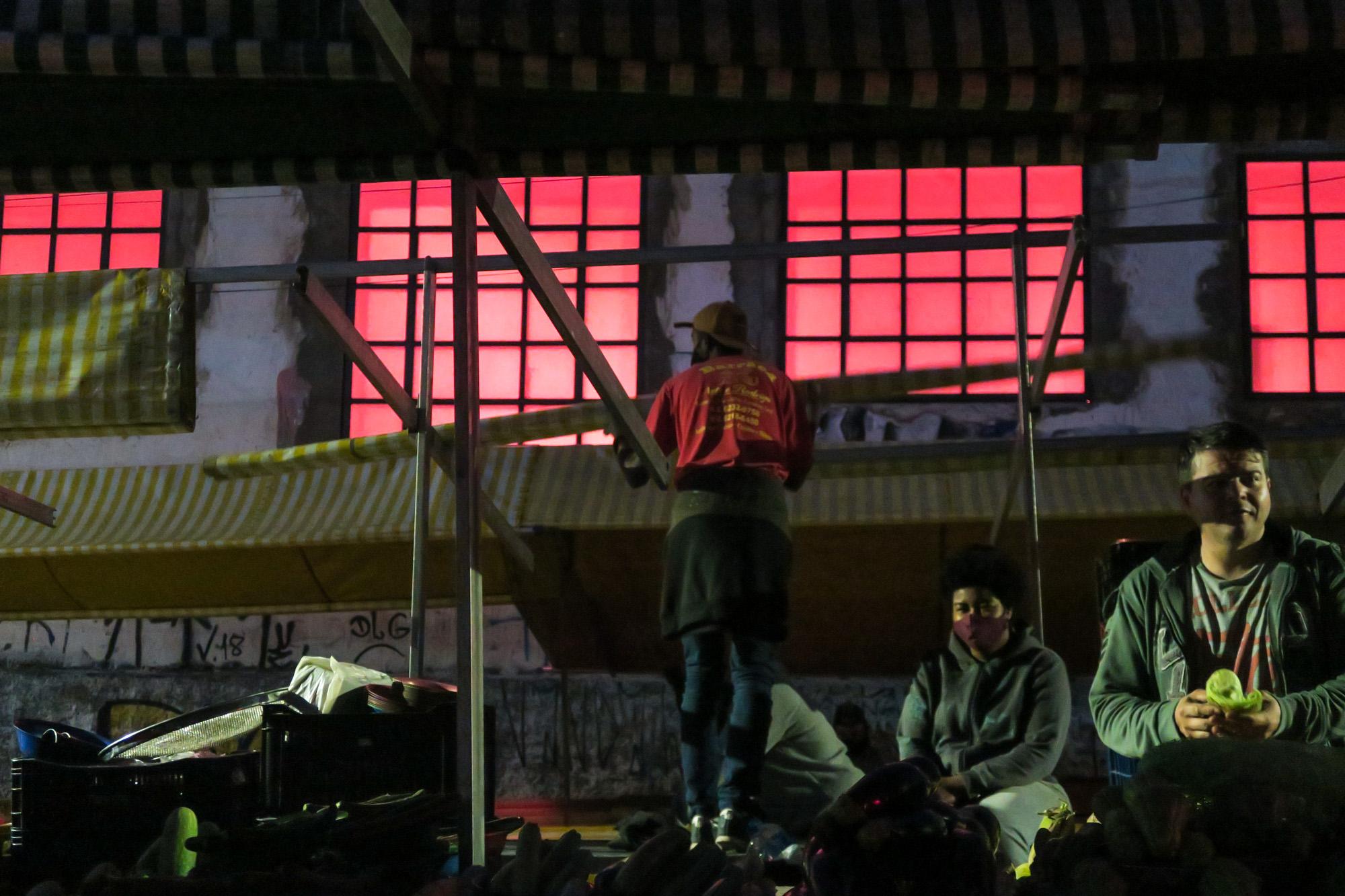 Colocando o telhado